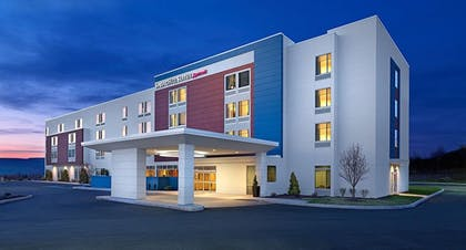 Front of Property - Evening/Night | SpringHill Suites by Marriott Dallas McKinney/Allen