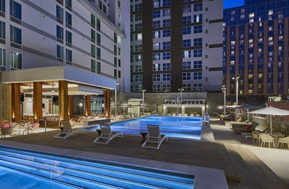 Outdoor Pool | SpringHill Suites by Marriott Nashville Downtown/Convention Center