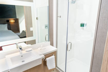Bathroom | SpringHill Suites by Marriott Ontario Airport/Rancho Cucamonga