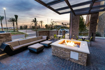 Terrace/Patio | SpringHill Suites by Marriott Ontario Airport/Rancho Cucamonga