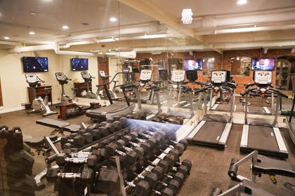 Gym | The Detroit Club-Hotel