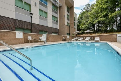 Pool | Holiday Inn Express & Suites Charlotte - Ballantyne