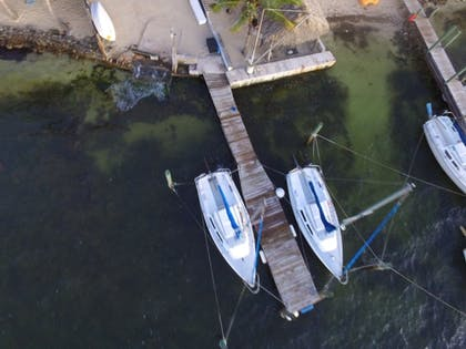 Aerial View | Key Largo Cottages