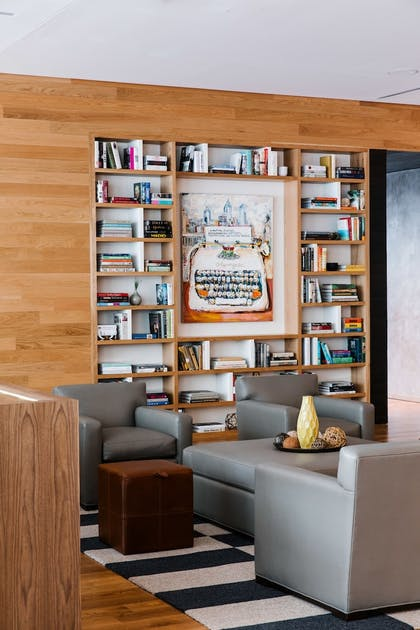 Library | The Study Hotel at University City