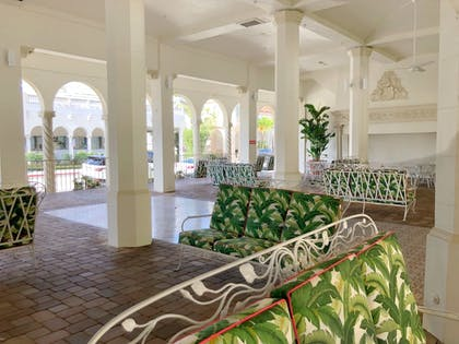 Terrace/Patio | Designer Decorated Palm Beach Hotel NEW