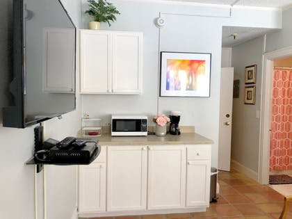 In-Room Kitchenette | Designer Decorated Palm Beach Hotel NEW