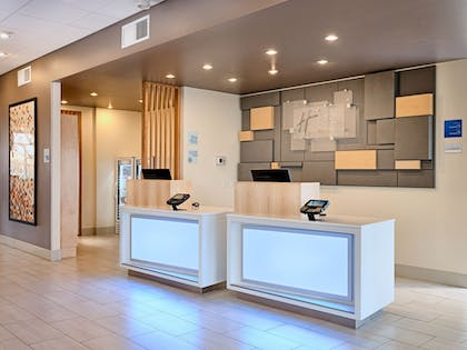 Check-in/Check-out Kiosk | Holiday Inn Express & Suites Salem North - Keizer