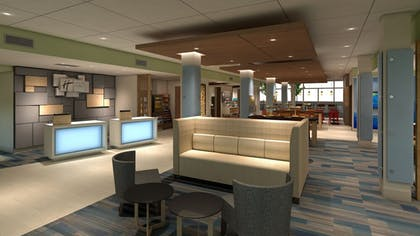 Lobby | Holiday Inn Express And Suites Marion