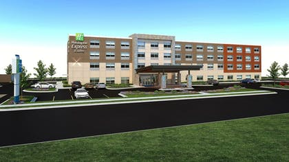 Exterior | Holiday Inn Express And Suites Marion
