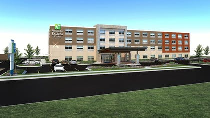 Hotel Front | Holiday Inn Express & Suites Lexington W - Versailles