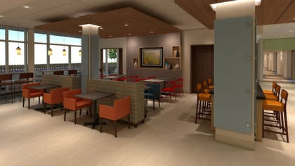 Breakfast Area | Holiday Inn Express & Suites Lexington W - Versailles