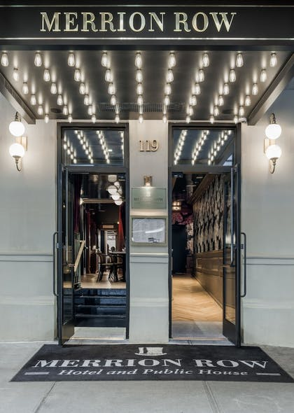 Hotel Entrance | Merrion Row Hotel and Public House