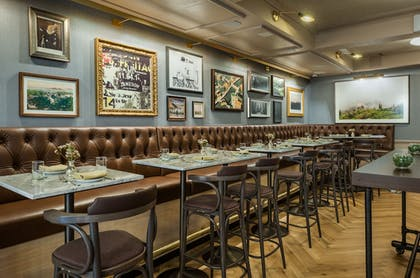 Restaurant | Merrion Row Hotel and Public House