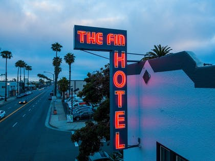 Hotel Front - Evening/Night | The Fin Boutique Hotel
