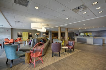 Lobby | Home2 Suites by Hilton Portland Airport ME