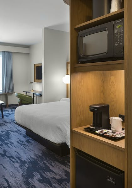 In-Room Amenity | Fairfield Inn & Suites by Marriott Shelby