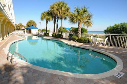Outdoor Pool | Camelot by the Sea by Elliott Beach Rentals