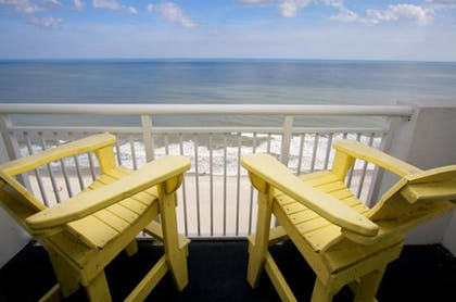 Balcony | Camelot by the Sea by Elliott Beach Rentals