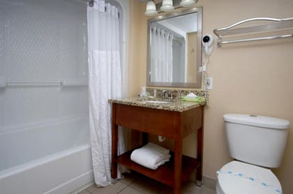 Bathroom | Camelot by the Sea by Elliott Beach Rentals