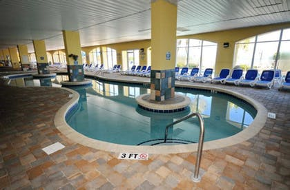 Indoor Pool | Camelot by the Sea by Elliott Beach Rentals