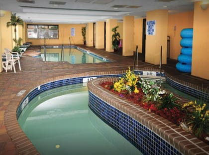 Indoor Pool | Units at Holiday Inn Pavilion by Elliott Beach Rentals