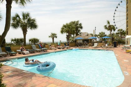 Outdoor Pool | Units at Holiday Inn Pavilion by Elliott Beach Rentals