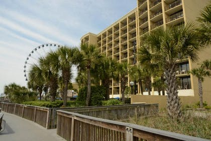 Hotel Front | Units at Holiday Inn Pavilion by Elliott Beach Rentals