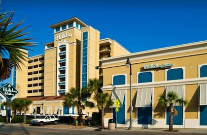 Hotel Entrance | Units at Holiday Inn Pavilion by Elliott Beach Rentals