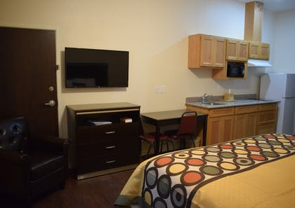 In-Room Amenity | Texas Bungalows Hotel and Suites Austin