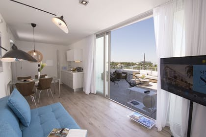 Living Area | Sixty80 Design Hotel