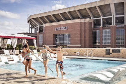 Outdoor Pool | Texas A&M Hotel and Conference Center