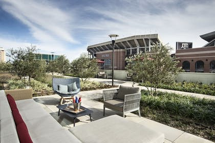 Terrace/Patio | Texas A&M Hotel and Conference Center