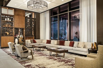 Lobby Sitting Area | Texas A&M Hotel and Conference Center