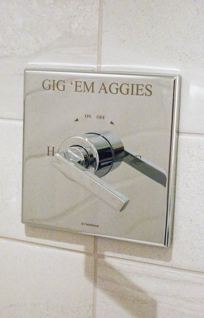 Bathroom | Texas A&M Hotel and Conference Center
