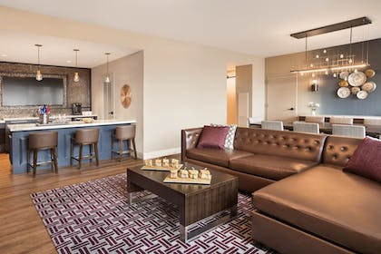 Living Area | Texas A&M Hotel and Conference Center
