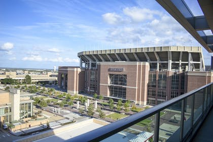 View from Hotel | Texas A&M Hotel and Conference Center
