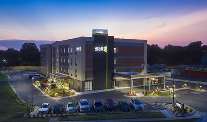Front of Property - Evening/Night | Home2 Suites by Hilton Owasso, OK
