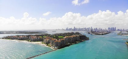 Aerial View | Fisher Island by Sunnyside Resorts