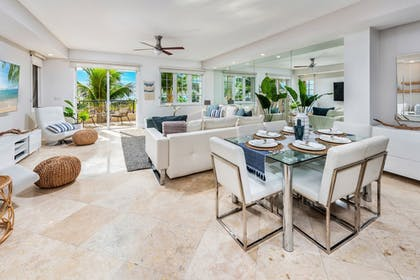 Living Room | Fisher Island by Sunnyside Resorts