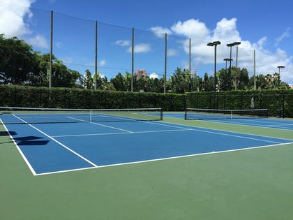 Tennis Court | Fisher Island by Sunnyside Resorts