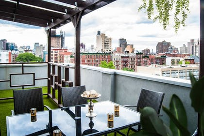 Terrace/Patio | Madison LES Hotel