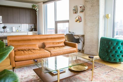 Living Room | Coral Homes - Designer Penthouses in Old City