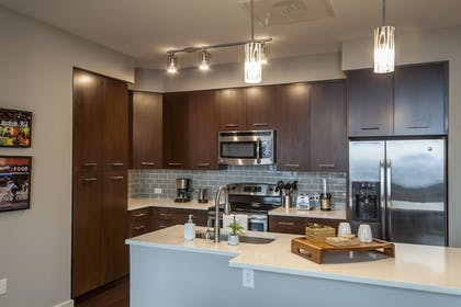 In-Room Kitchen | Coral Homes - Designer Penthouses in Old City