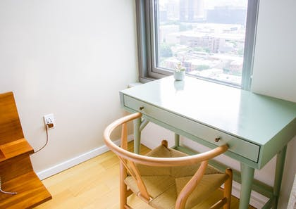 In-Room Business Center | Coral Homes - Designer Penthouses in Old City