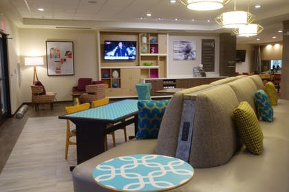 Lobby Sitting Area | Home2 Suites by Hilton Raleigh Durham Airport RTP