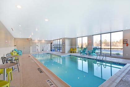 Indoor Pool | Home2 Suites by Hilton Raleigh Durham Airport RTP