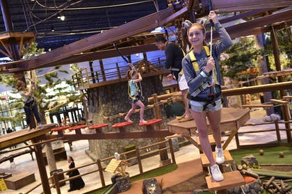 Ropes Course (Team Building) | Great Wolf Lodge Atlanta / LaGrange, GA