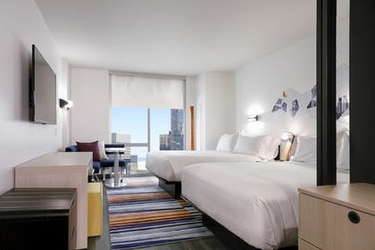 Guestroom | Aloft Chicago Mag Mile