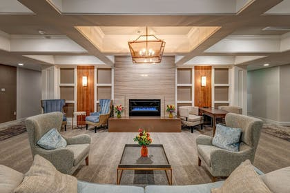 Fireplace | The Hotel Concord