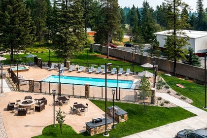 Outdoor Pool | TownePlace Suites by Marriott Whitefish